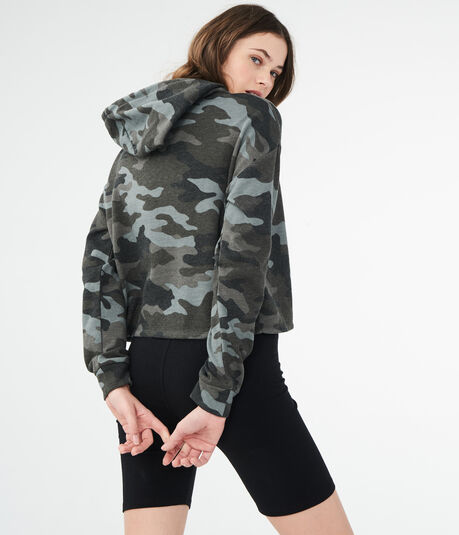 LLD Camo Pullover Hoodie