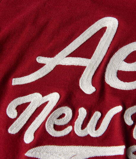 Aero New York Script Graphic Tee