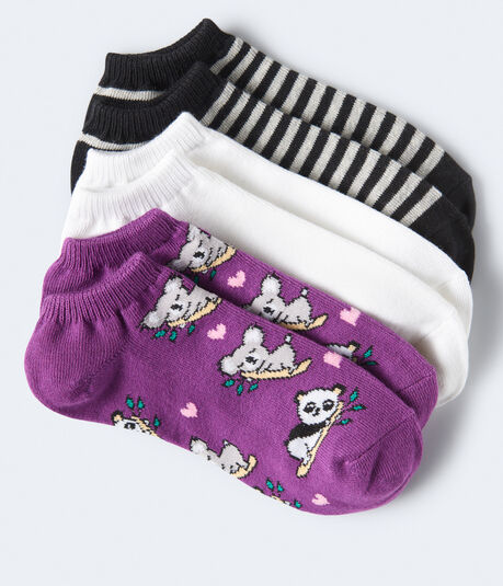 Koala Hearts Ankle Sock 3-Pack