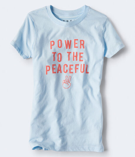 Free State Power To The Peaceful Graphic Tee