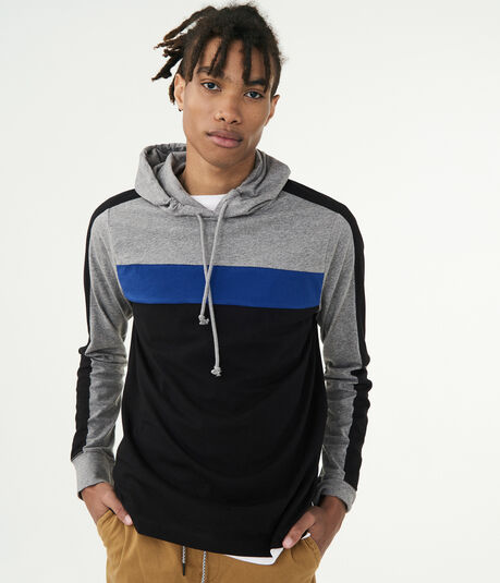 Colorbock Stripe Pullover Hoodie