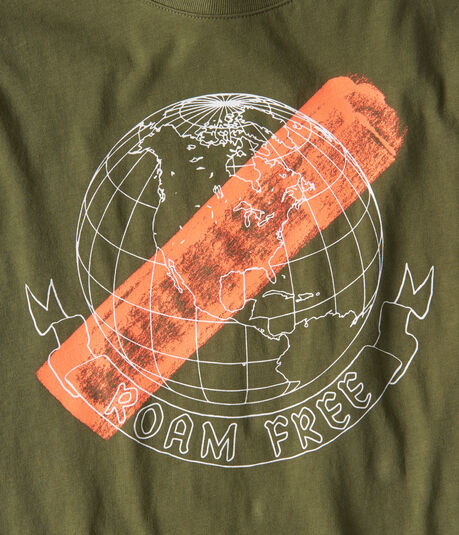 Long Sleeve Roam Free Graphic Tee