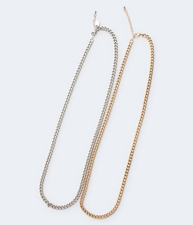 Chain Necklace 2-Pack
