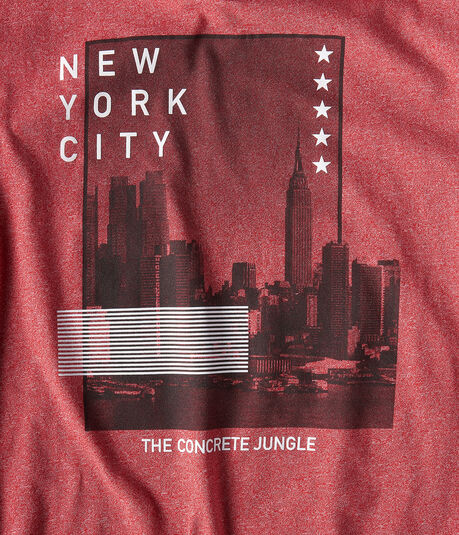 Free State New York Cityscape Graphic Tee