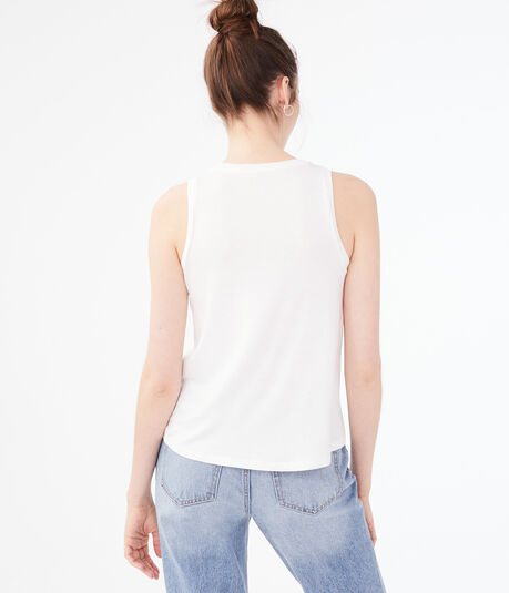 Seriously Soft Embroidered Tank