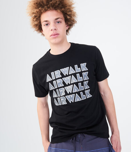 Airwalk Repeating Logo Graphic Tee