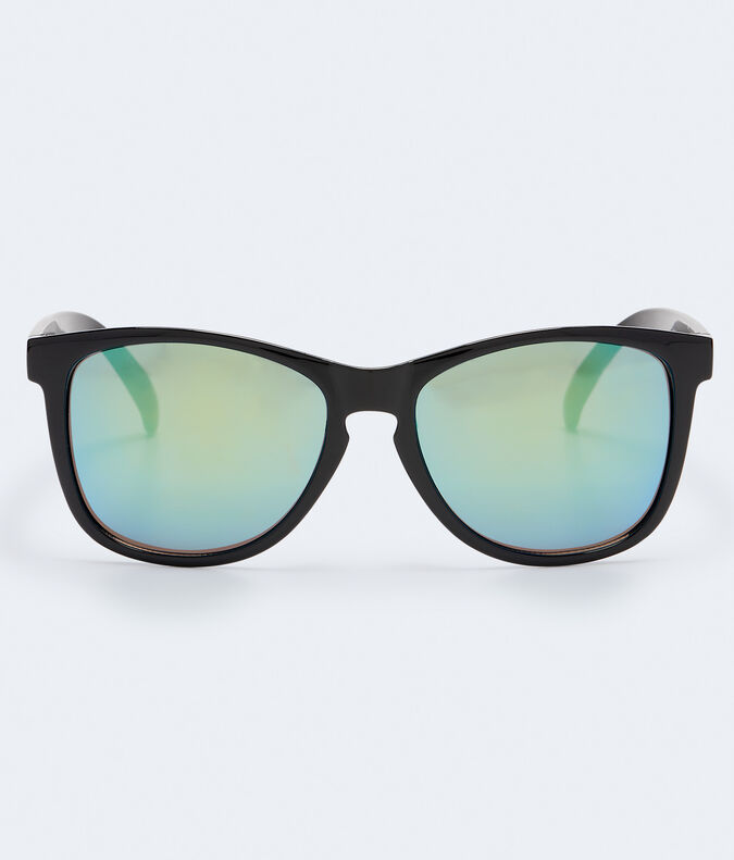 Shiny Mirrored Waymax Sunglasses***