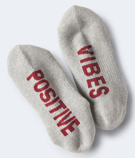 2-Pack Positive Vibes Athletic Socks