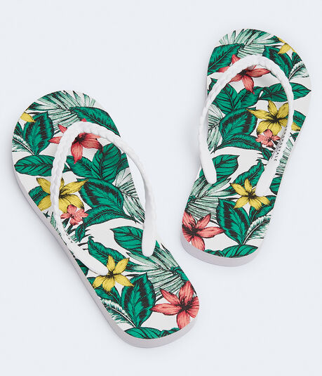 Tropical Flower Flip-Flop