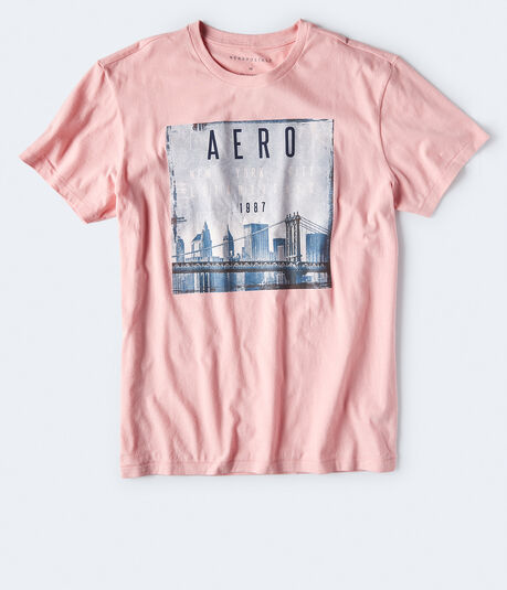 Aero New York City Bridge Graphic Tee