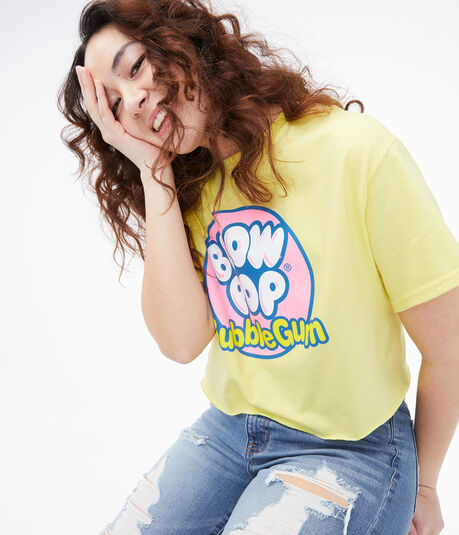 Blow Pop Cropped Graphic Tee