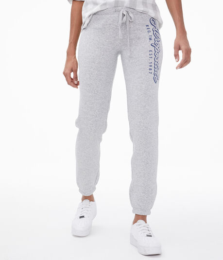 Aeropostale Script Cinch Sweatpants