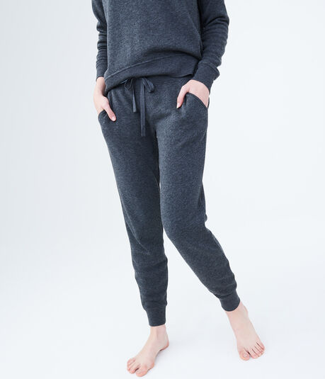 LLD Heathered Fleece Jogger Sweatpants