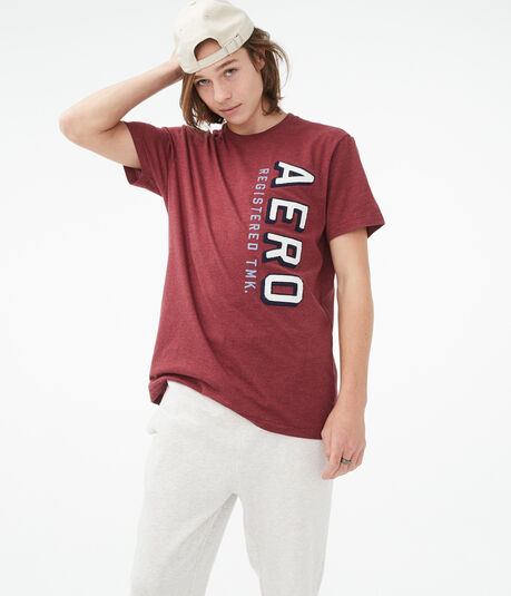 Vertical Aero Logo Graphic Tee