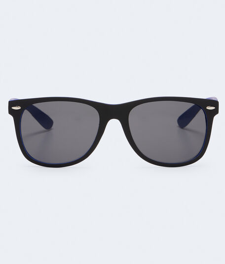 Two-Tone Plastic Waymax Sunglasses