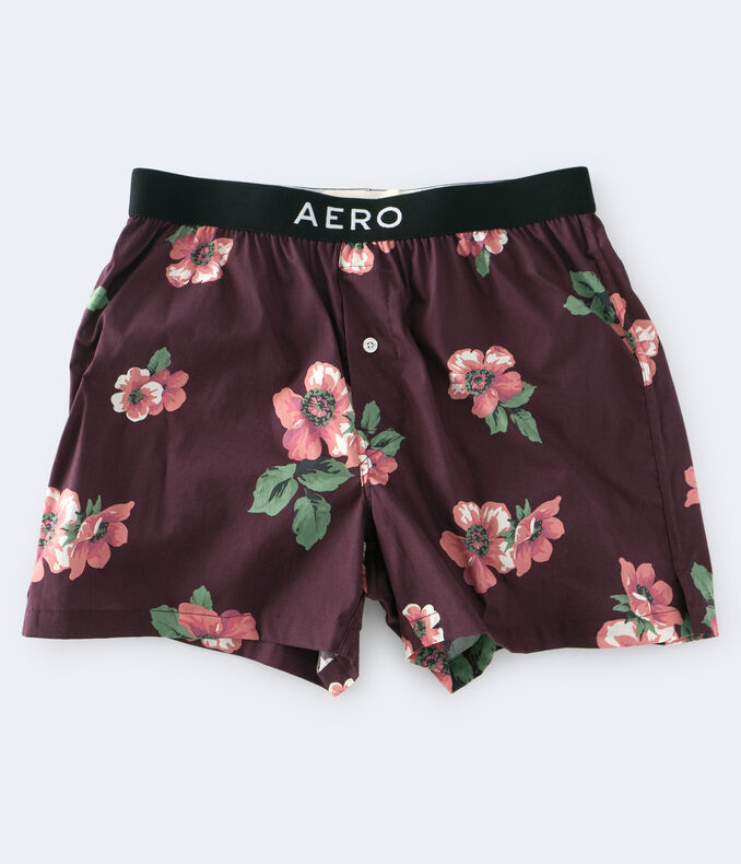 Floral Woven Boxers***