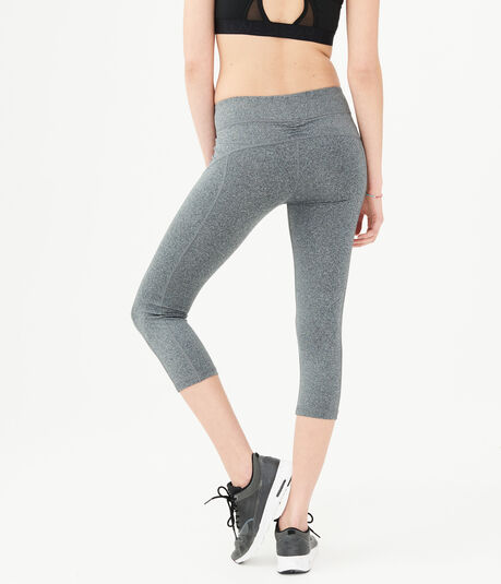 Best Booty Ever Heathered Crop Leggings