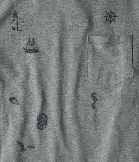 Seaside Pocket Graphic Tee