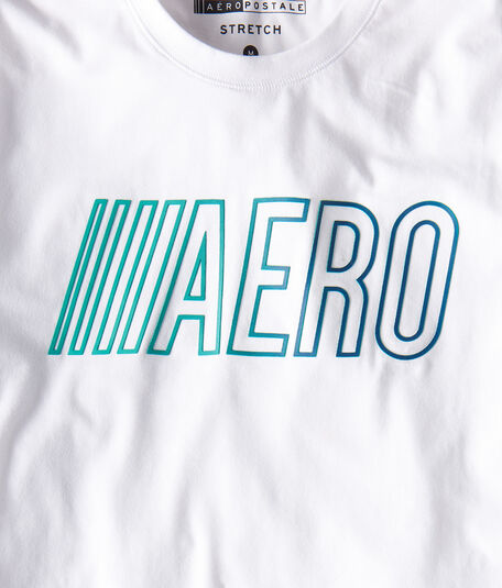 Aero Stretch Graphic Tee