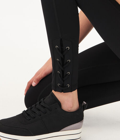 7/8 Lace-Up Legging