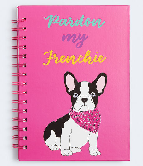 Pardon My Frenchie Spiral Notebook