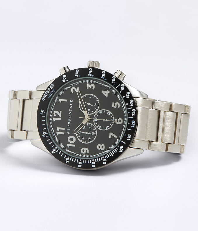 Metal Chrono Analog Watch
