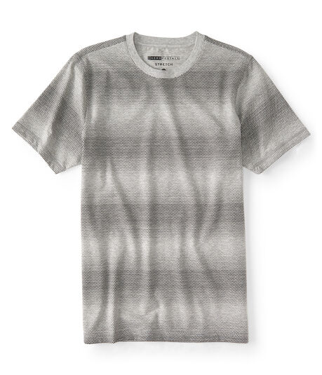 Gradient Triangle Stretch Graphic Tee