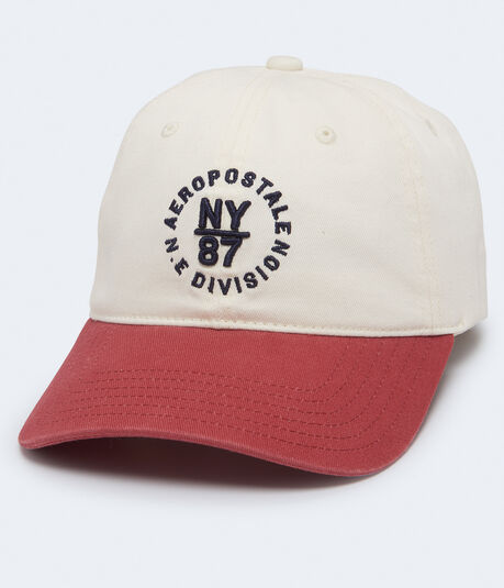 NY 87 Logo Circle Adjustable Hat