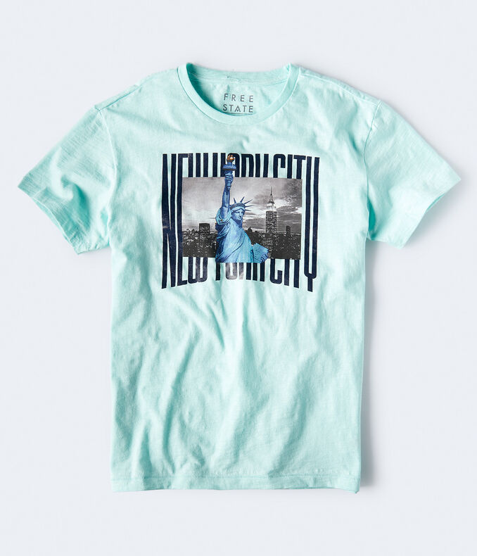 Free State Statue Of Liberty Graphic Tee
