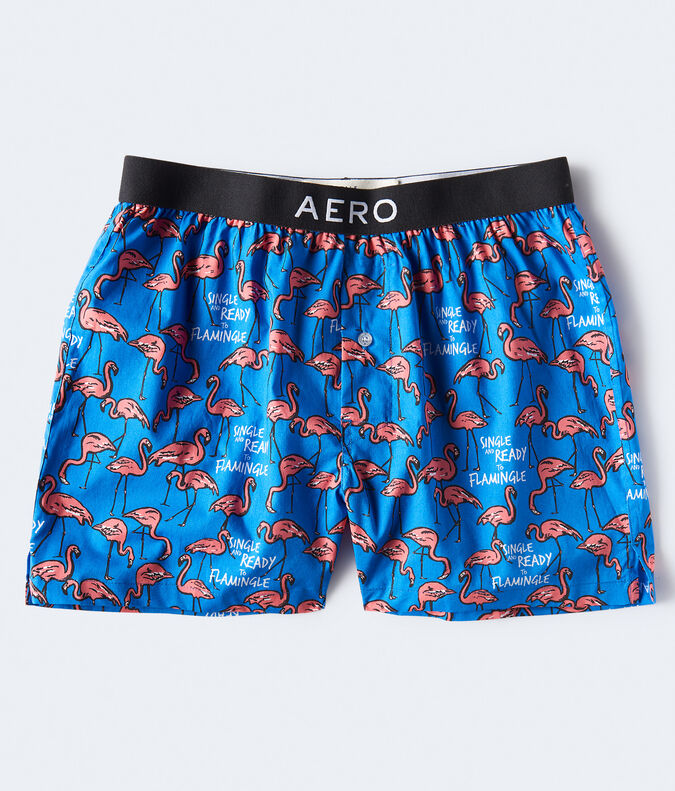 Ready To Flamingle Woven Boxers
