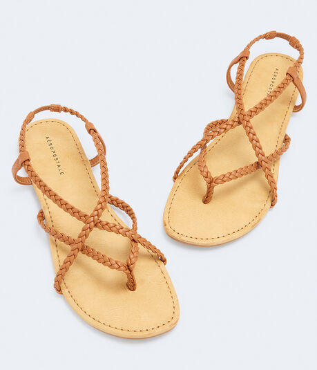 Braided Strap Sandal