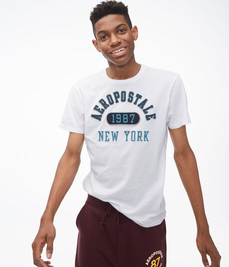 Aeropostale Arch Graphic Tee
