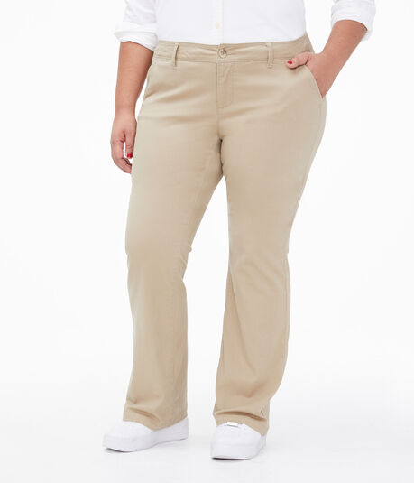 Curvy Twill Uniform Pants