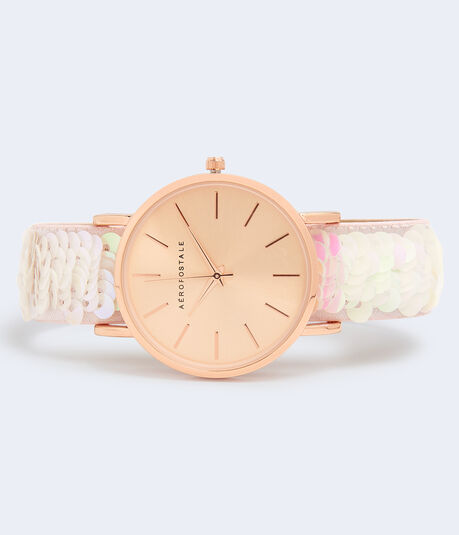 Sequin Analog Watch***