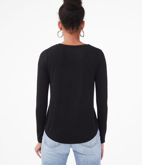 Long Sleeve Seriously Soft Crew Tee