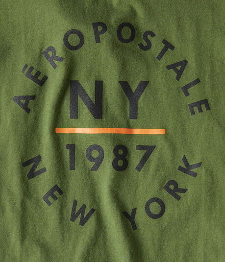 Aero NY Circle Graphic Tee