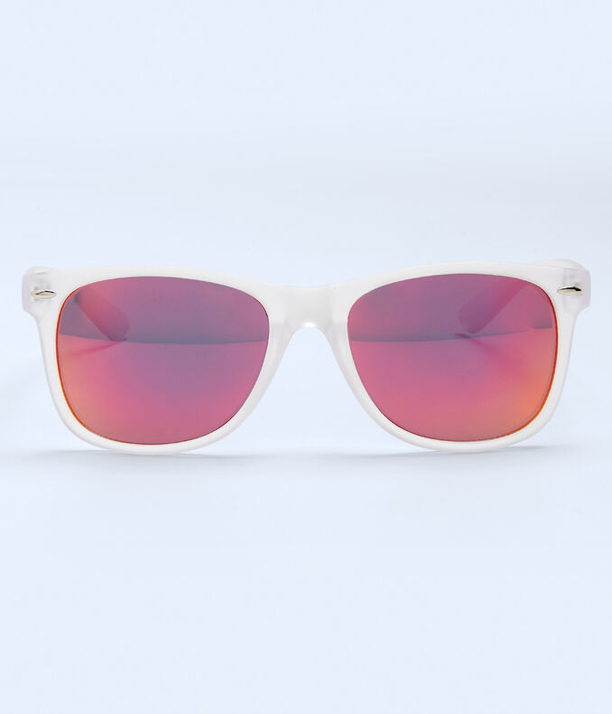 Clear Waymax Sunglasses