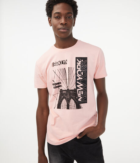 Brooklyn New York Coordinates Graphic Tee