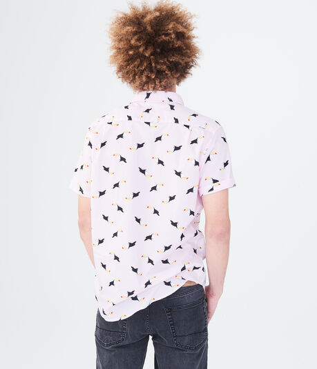 Flock Of Toucans Woven Shirt