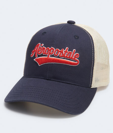 Aeroposale Script Adjustable Trucker Hat