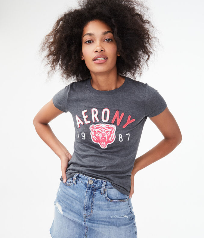 Aero NY Bear Graphic Tee