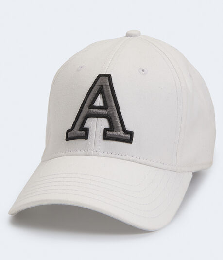 "Embroidered ""A"" Fitted Hat"