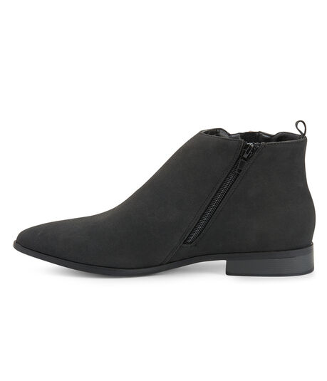 Faux Suede Ankle Bootie