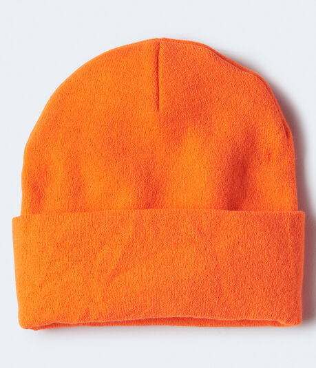 Solid Turnback Beanie