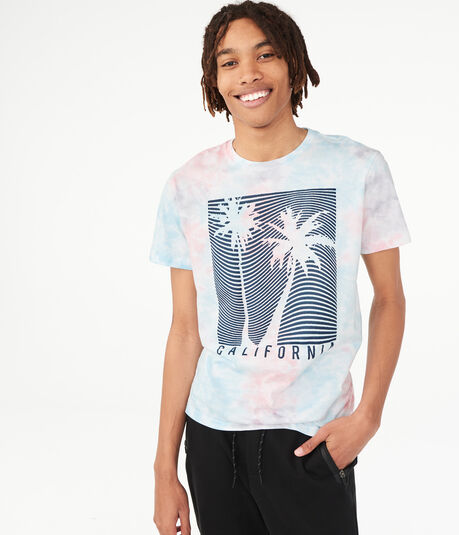 Tie-Dye California Graphic Tee