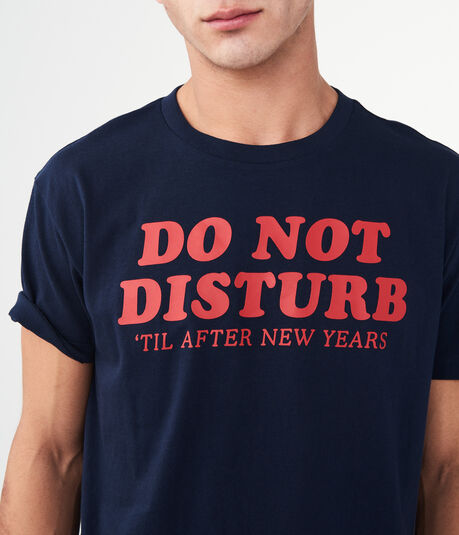 Do Not Disturb Graphic Sleep Tee
