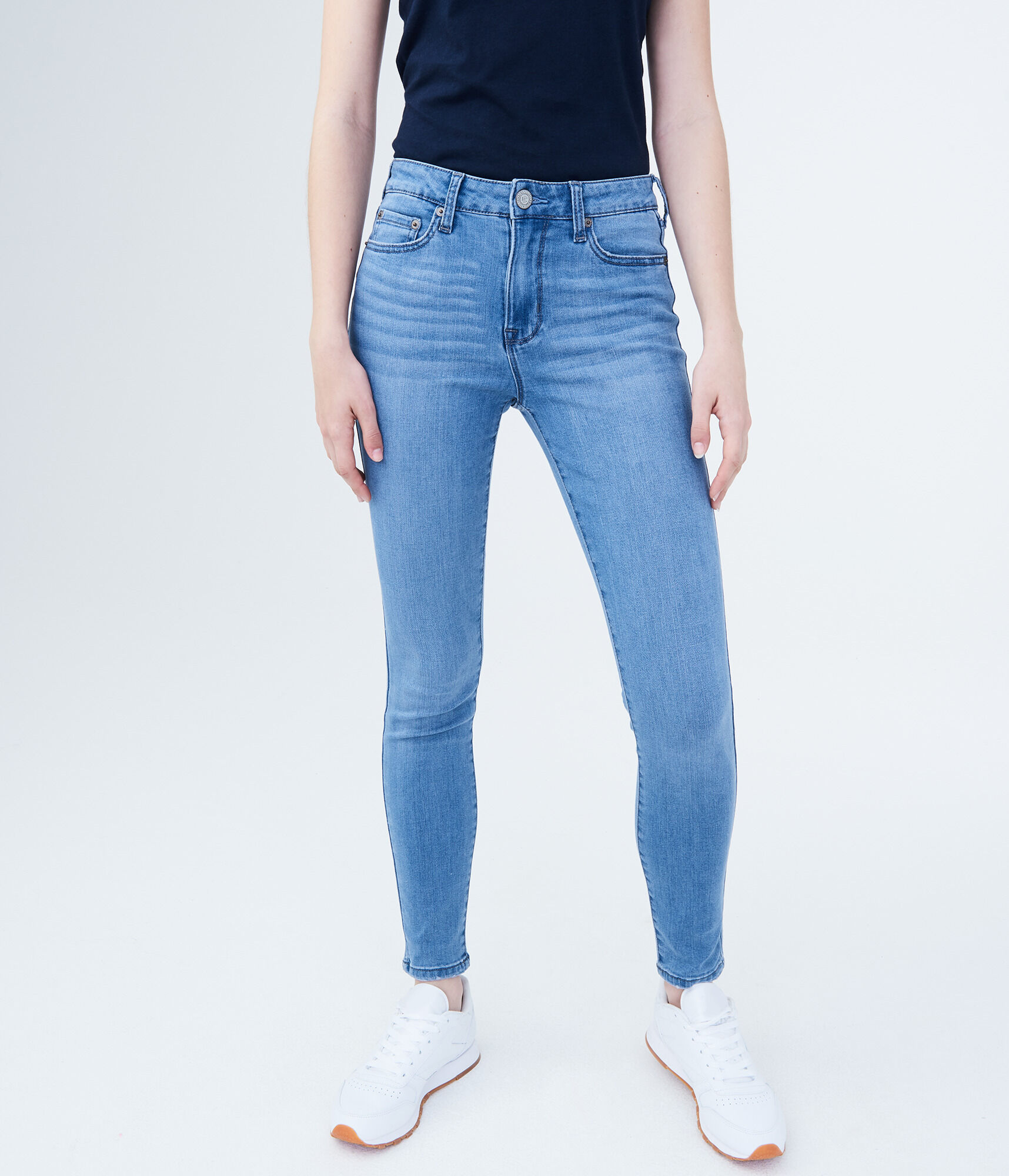 9cd364df066c Seriously Stretchy High-Waisted Jegging