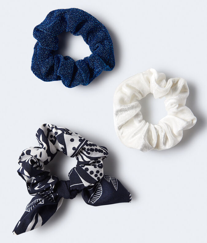 Bow Scrunchie 3-Pack***