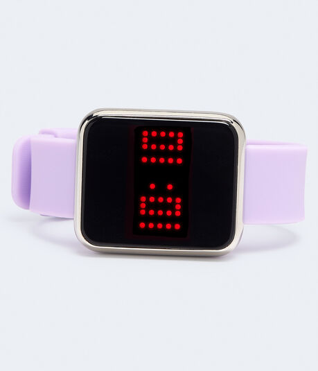 Square Rubber Digital Watch