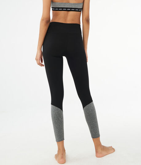 Colorblocked Ankle Leggings
